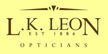 L.K. Leon Opticians logo