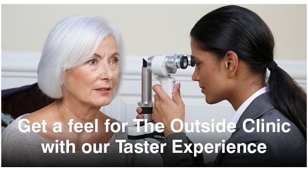 Get a feel for The Outside Clinic with a Taster Experience.