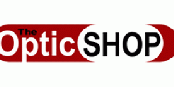 The Optic Shop logo
